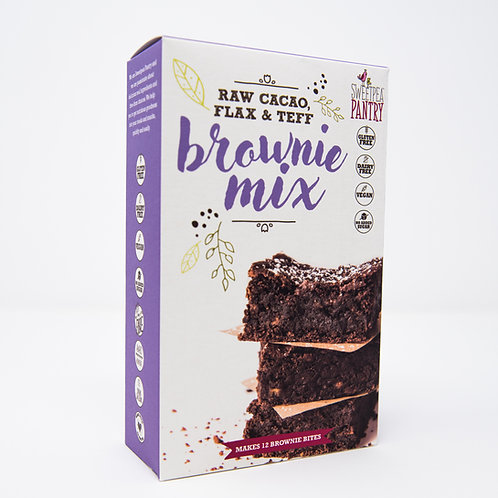 Brownie Mix with raw cacao, flax and teff (gluten free)