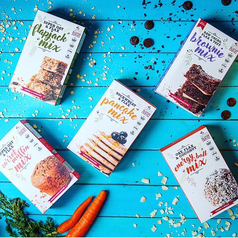 The Range - healthy baking mixes