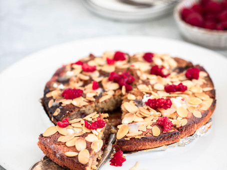 Raspberry Tart Recipe (vegetarian, gluten-free, dairy-free)