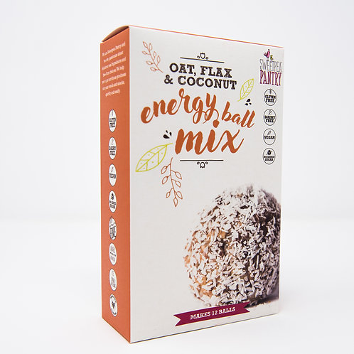 Energy Ball Mix with oats, coconut and flax (gluten free)