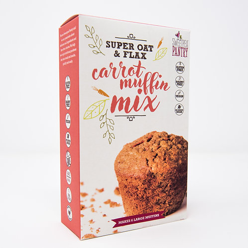 Carrot Muffin Mix with oats and flax (gluten free)