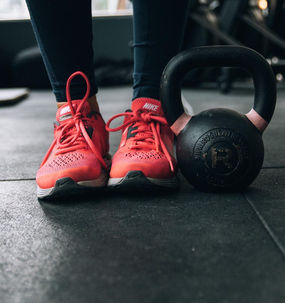 Using exercise to de-stress