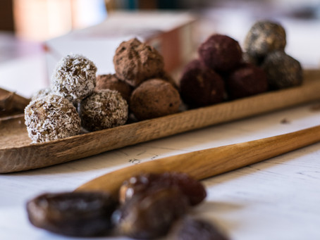 Energy Balls - Introducing Different Flavour Combinations