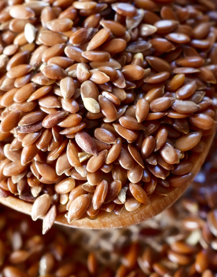 Nutritional information on flax