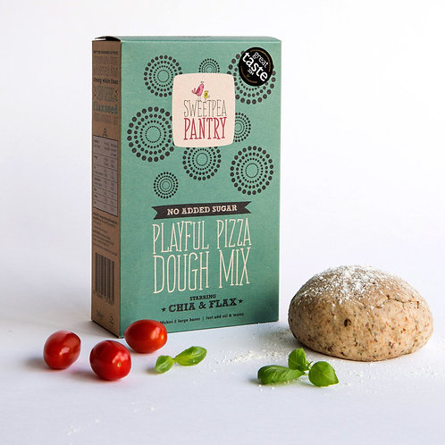Playful Pizza Dough Mix with chia and flax (The Original)