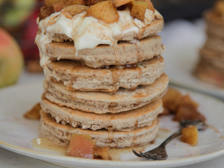 Apple Pie Pancake Recipe - From the 'Using our Mixes' Series