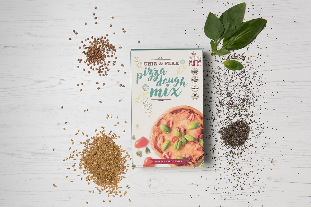 gluten free healthy baking mix for pizza dough