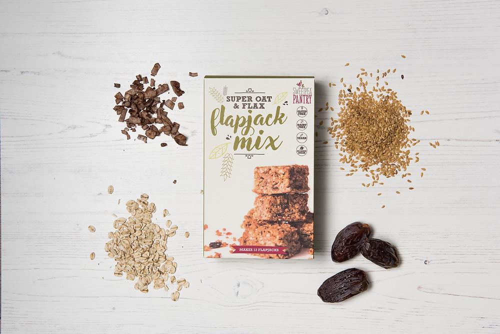 healthy flapjack baking gluten free