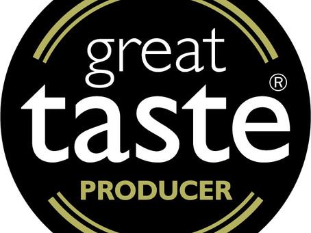 Great Taste Award Wins for Sweetpea Pantry!