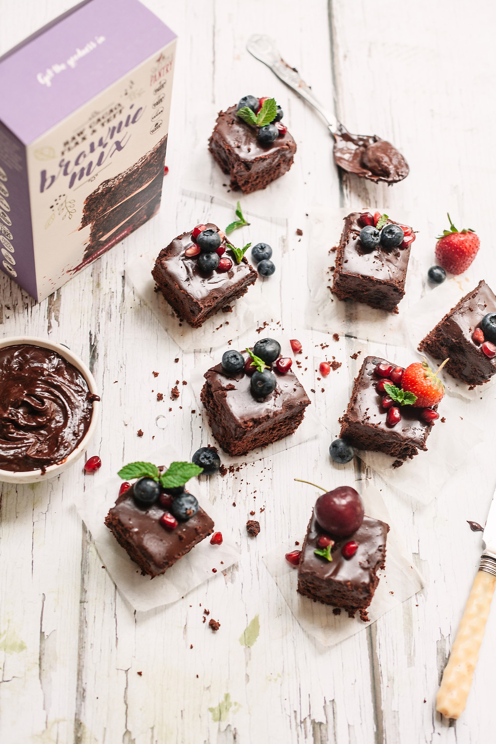 Healthy indulgent brownie recipe