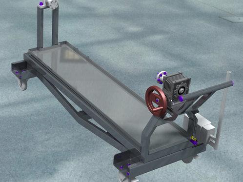 Bati roulant de montage forte charge CPM010100-00-L1800
