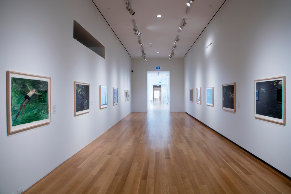 Installation view, Forced to Seek Air, Betty Goodwin's Swimmers, Art Gallery of Ontario, October 2018 – March 2019. Photo: Dean Tomlinson © 2018 Art Gallery of Ontario