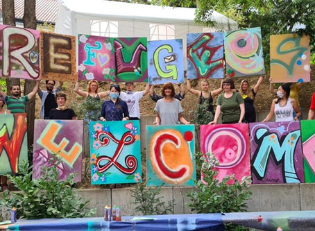 Unser Graffiti-Workshop in Bildern