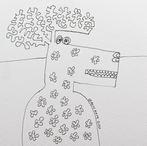 Reindeer Sketch #15 2020 © Brad Nack