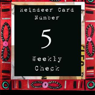 Reindeer Card #5 - Coming soon