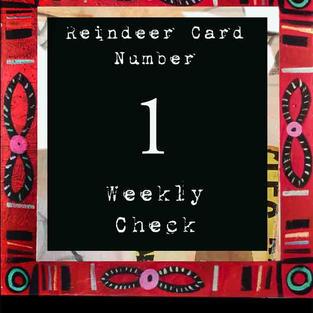Reindeer Card #1 - Coming soon
