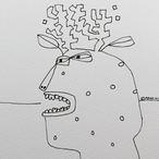 Reindeer Sketch #06 2020 © Brad Nack