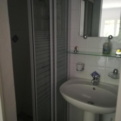douche privative de la 1ère chambre du gîte 6 personnes