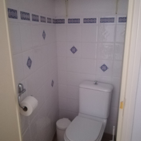 wc privatif de la 1ère chambre du gîte 6 personnes