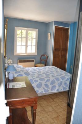 1ère chambre du gîte 6 personnes avec douche et wc privatif