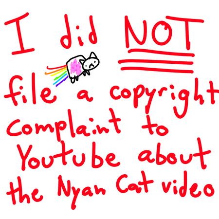 Copyright nyam cat