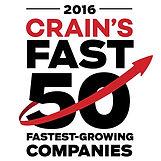 Crain's Fast 50 Logo