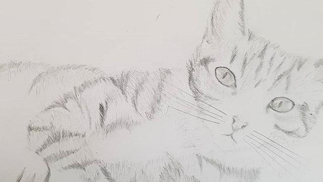 A5 Custom Graphite Pencil Portrait