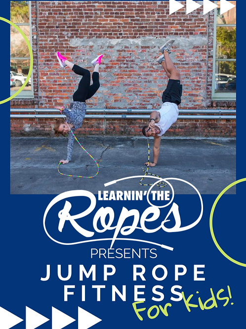 Jump Rope Fitness for Kids PDF Packet