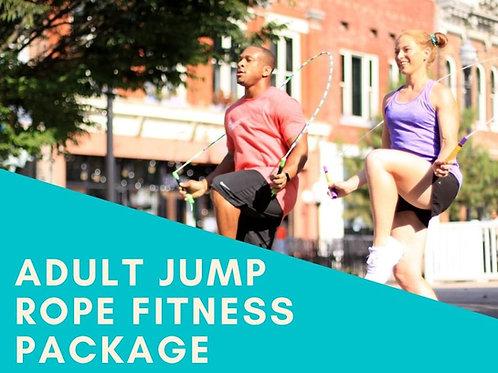 Adult Jump Rope Fitness Program