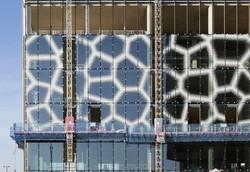The Spine exterior glazing