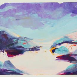 Postcape series: Purple Sandy