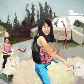 Sheep Caravan