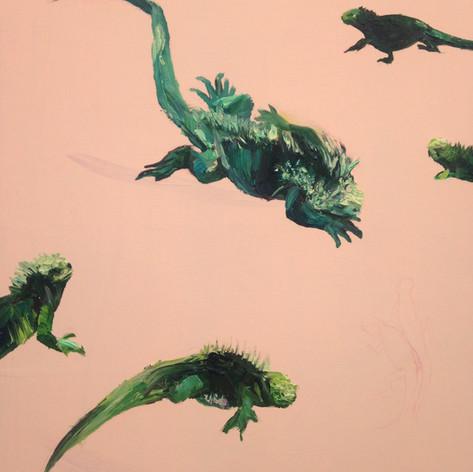 Iguana Detail