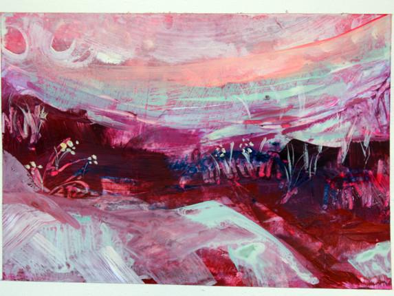 Postscape series: Pink Mess