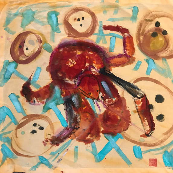Coconut Crab Sighting