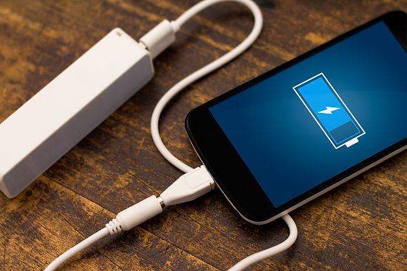 Phone charging with energy bank. Depth o
