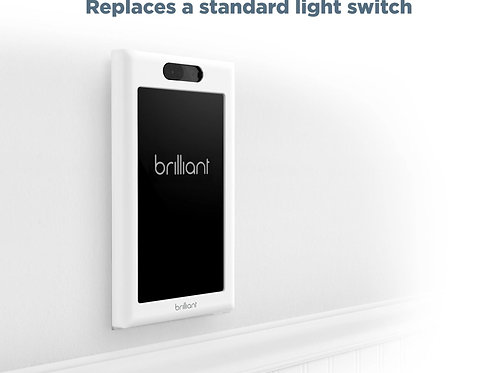 Brilliant All-in-One Smart Home Control (1 Switch Panel)