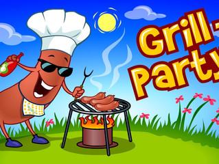 Befalsklubben inviterer til grillparty - sommertreff for medlemmer med servering av grillmat