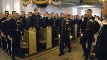 HM Kongens Gardes Kirkeparade i Oslo Domkirke