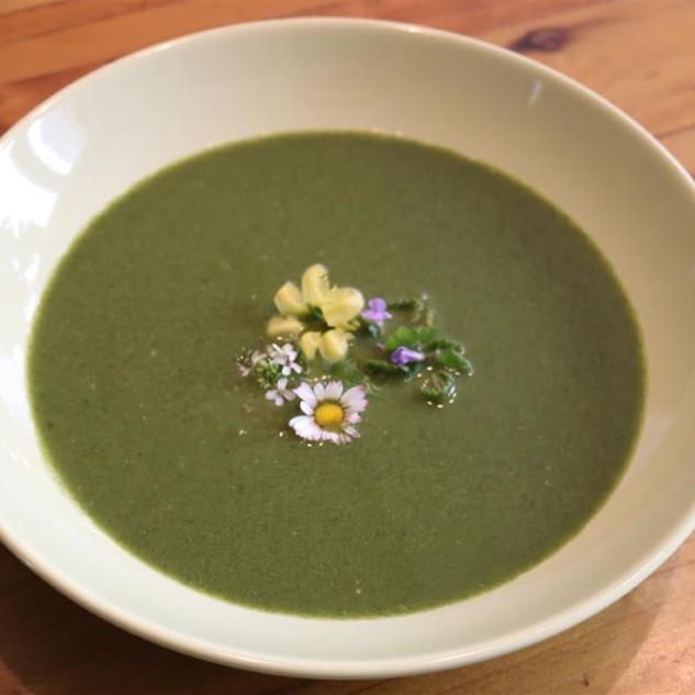 Neun Kräuter-Suppe