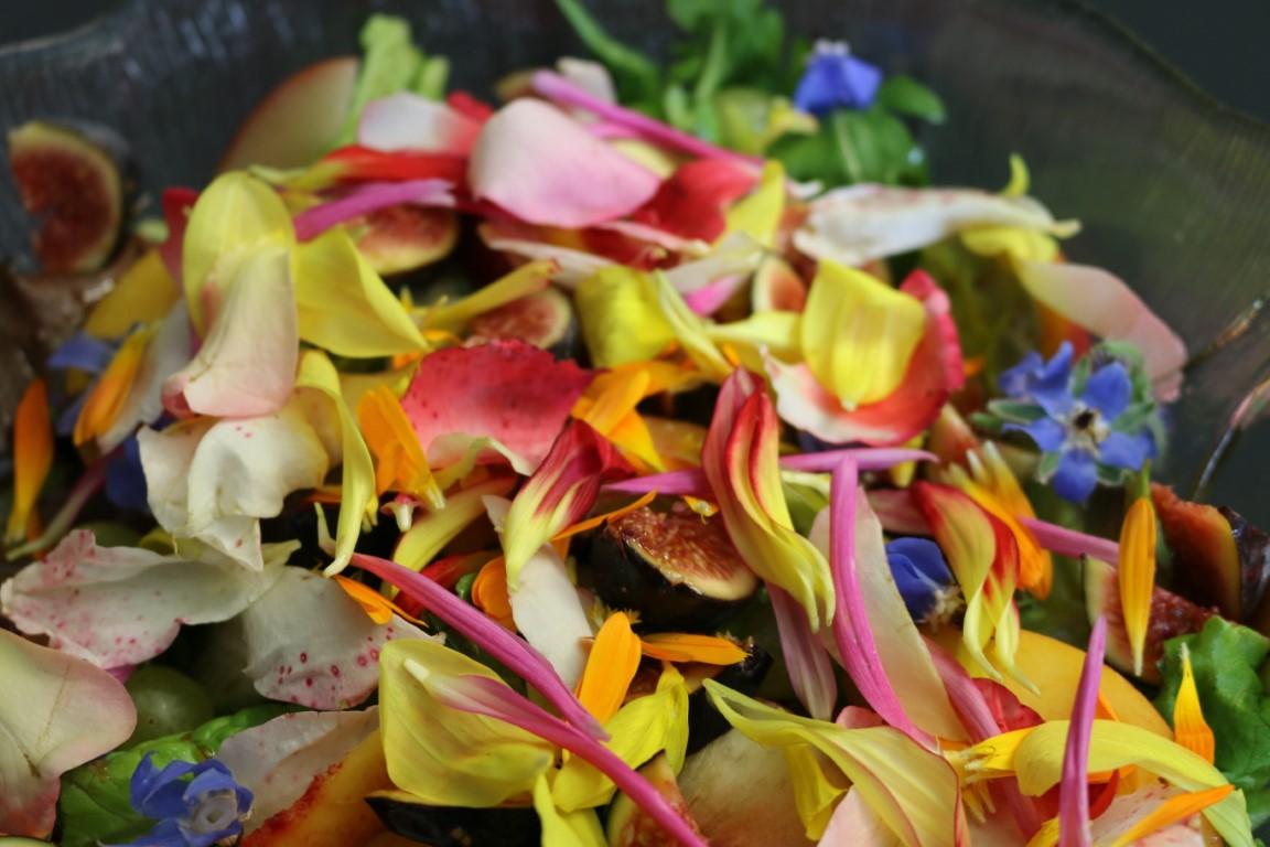 Blütensalate
