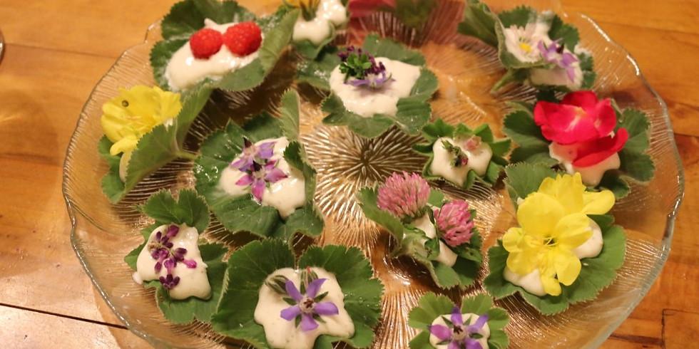 Delikatessen am Wegesrand  Wildkräuter-Menü