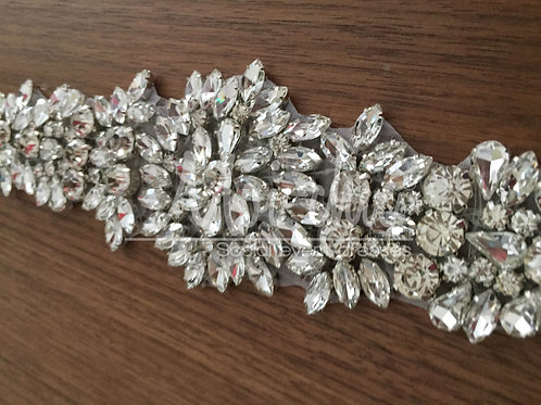 Cinto Cristal Flores WG102SH