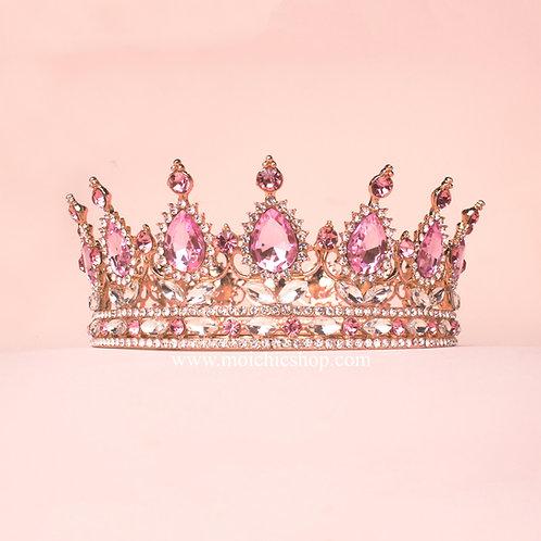 Corona princesa rose gold TXV083