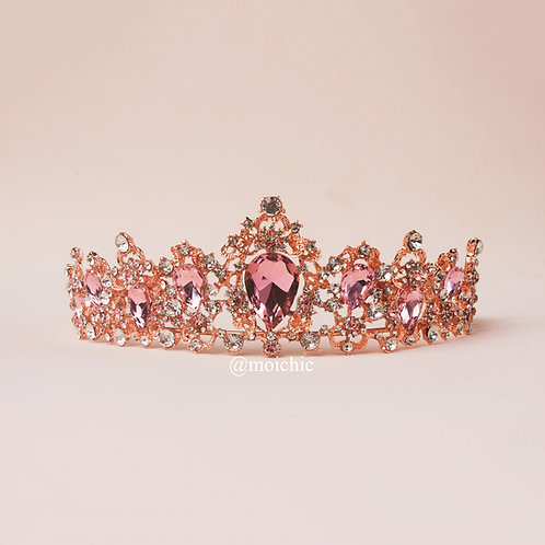 Tiara rose gold rosa TXV094