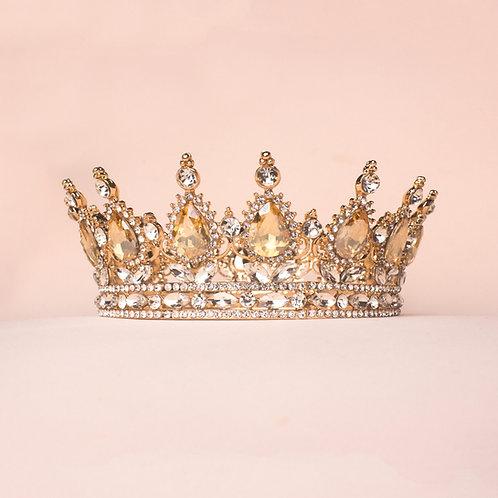 Corona princesa dorada TXV079