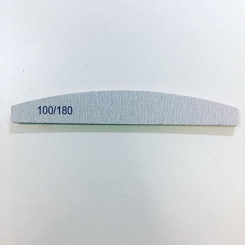 Пилка серая для лого, полумесяц 100/180