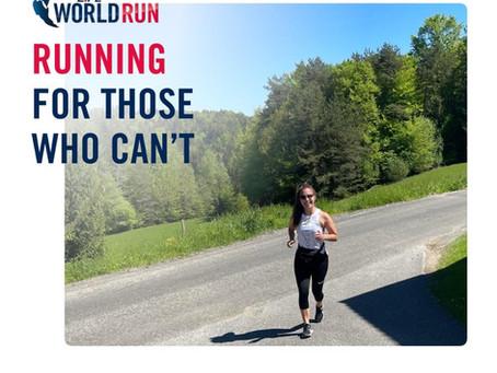 Laufen und helfen