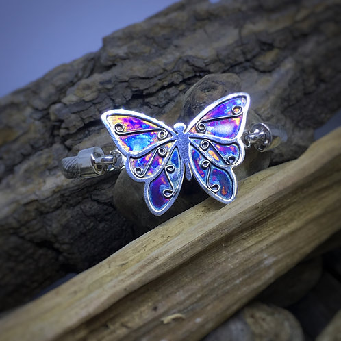 Large Butterfly Bangle