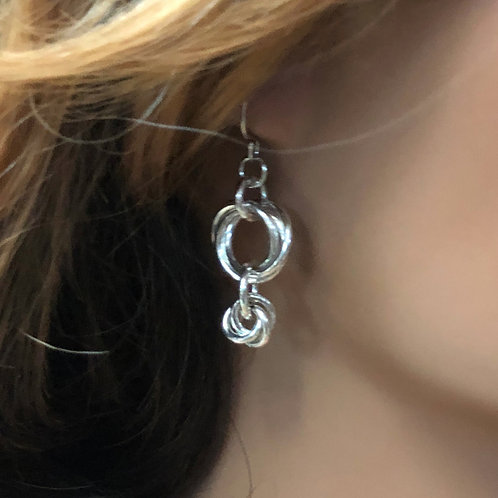 Sterling Earrings No. 104